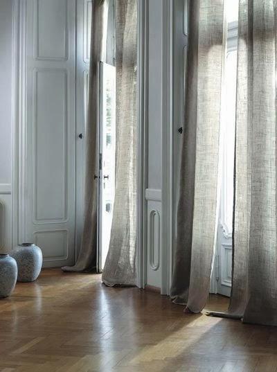 mobilier table id e rideau salon. Black Bedroom Furniture Sets. Home Design Ideas