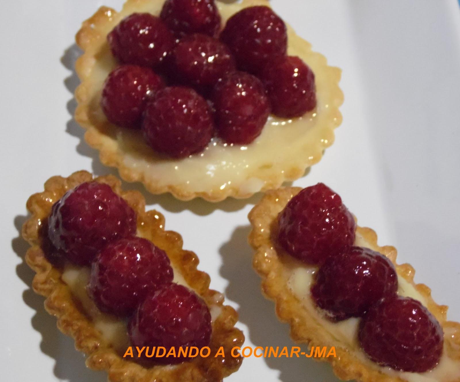 Tartaletas De Frambuesas