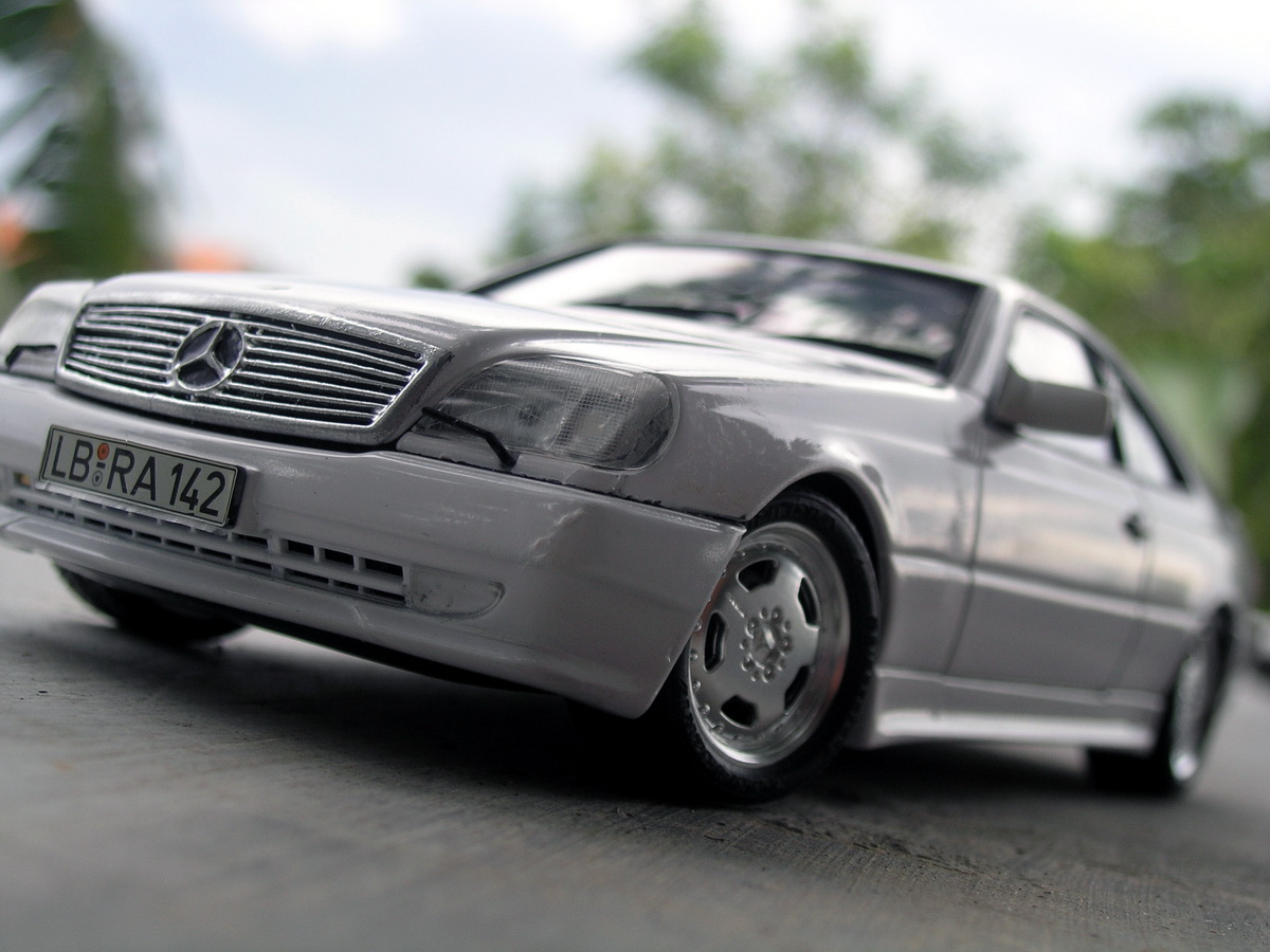 Tamiya amg mercedes s600 coupe for Mercedes benz s 600 amg