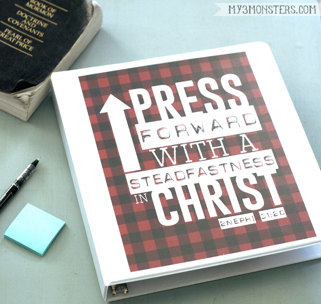 2016 LDS Theme Printables for Primary, Young Women and Young Men.  Free Binder Cover Printables from my3monsters.com