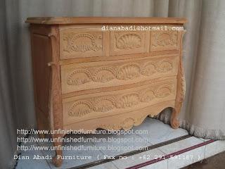 furniture klasik bufet ukir klasik cabinet klasik ukir jepara supplier mebel ukir bufet klasik ukir unfinished mentah mahoni