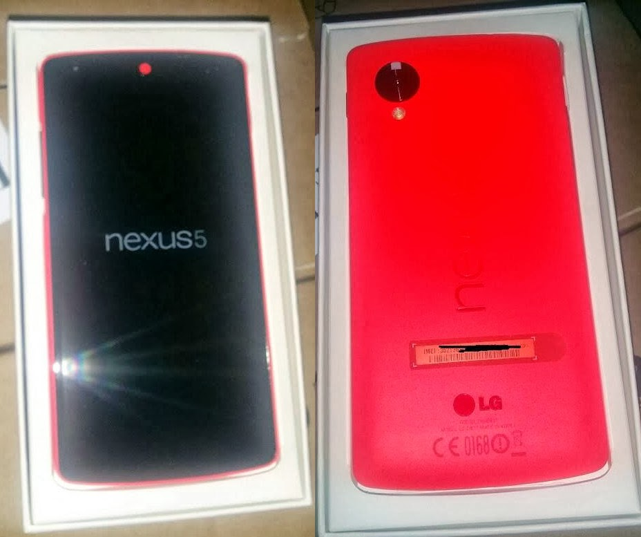 Nexus 5 in red color to launch soon