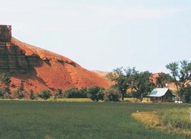 scenic red rocks