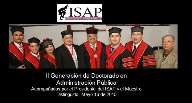 ISAP graduación DAP