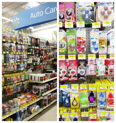 where to find car care fragrances in Walmart