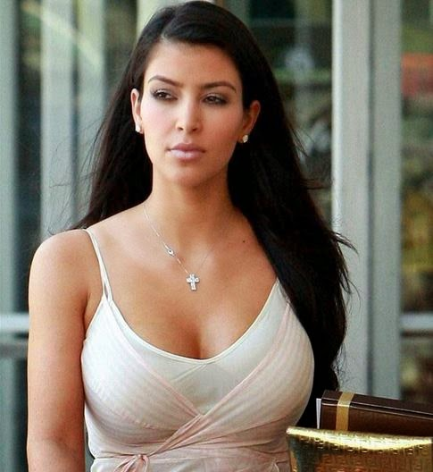 Sexy Kim Kardashian Popular Images