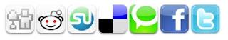A preview of Socio Fluid Social bookmarking widget