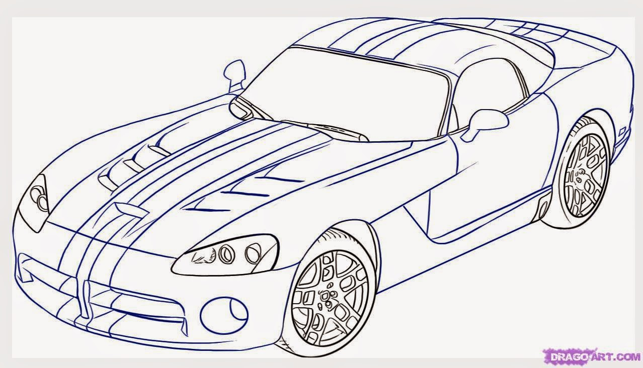 Famous Fast Car Drawings Elaboration - Wiring Diagram Ideas ...