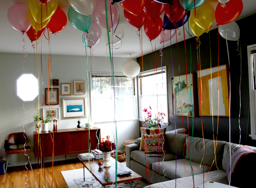 Interior design tips home decorations for birthday party for Home party decorations