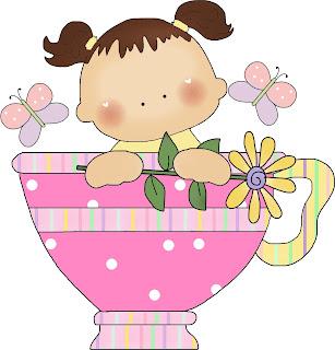 Desenho de xícara colorido