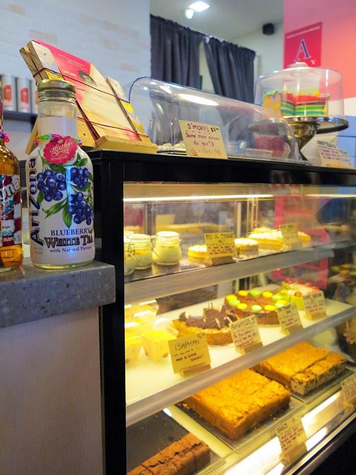 Hatter Street dessert display