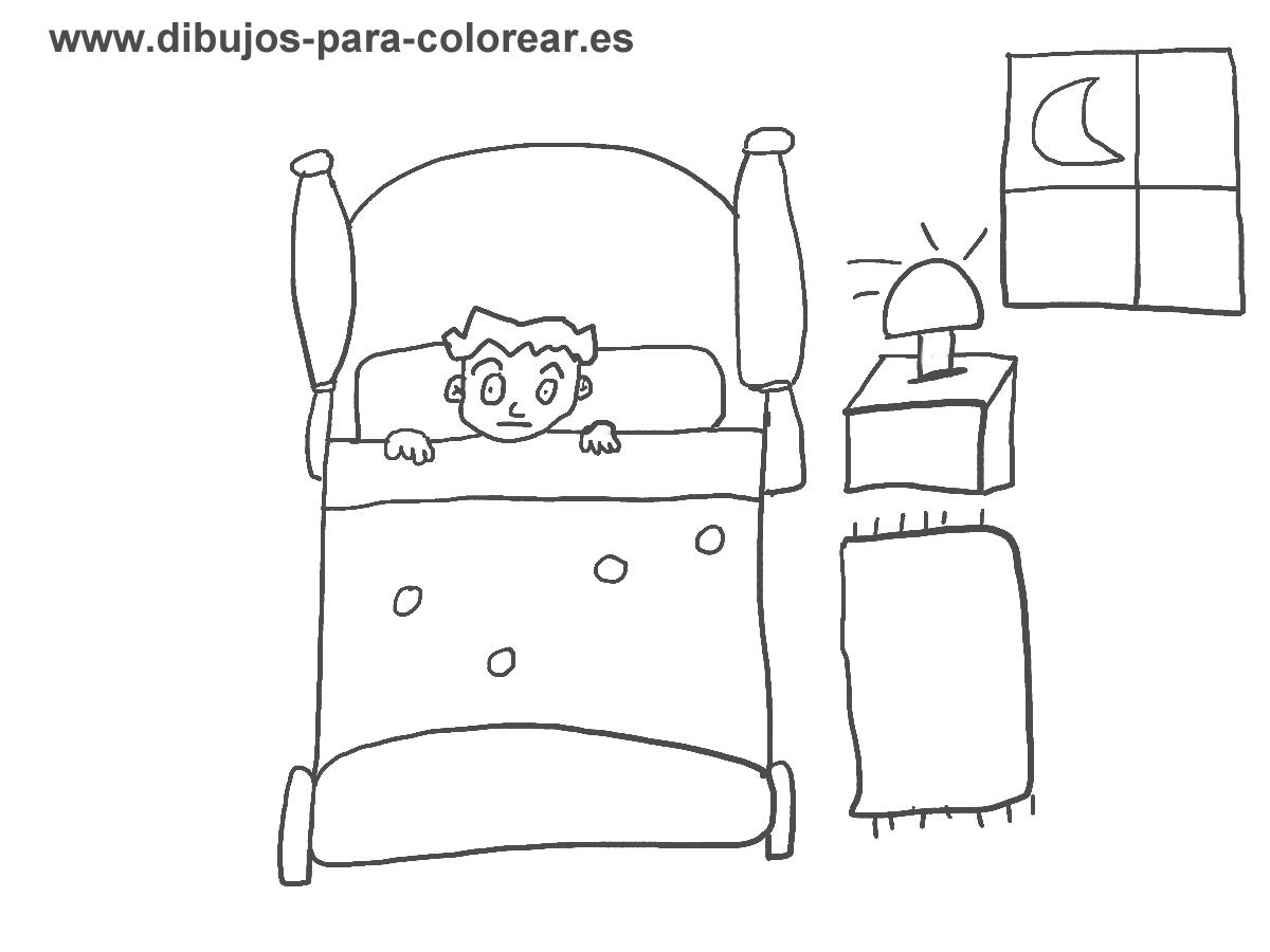 Miradadeperroviejo octubre 2012 for Dormitorio para dibujar facil