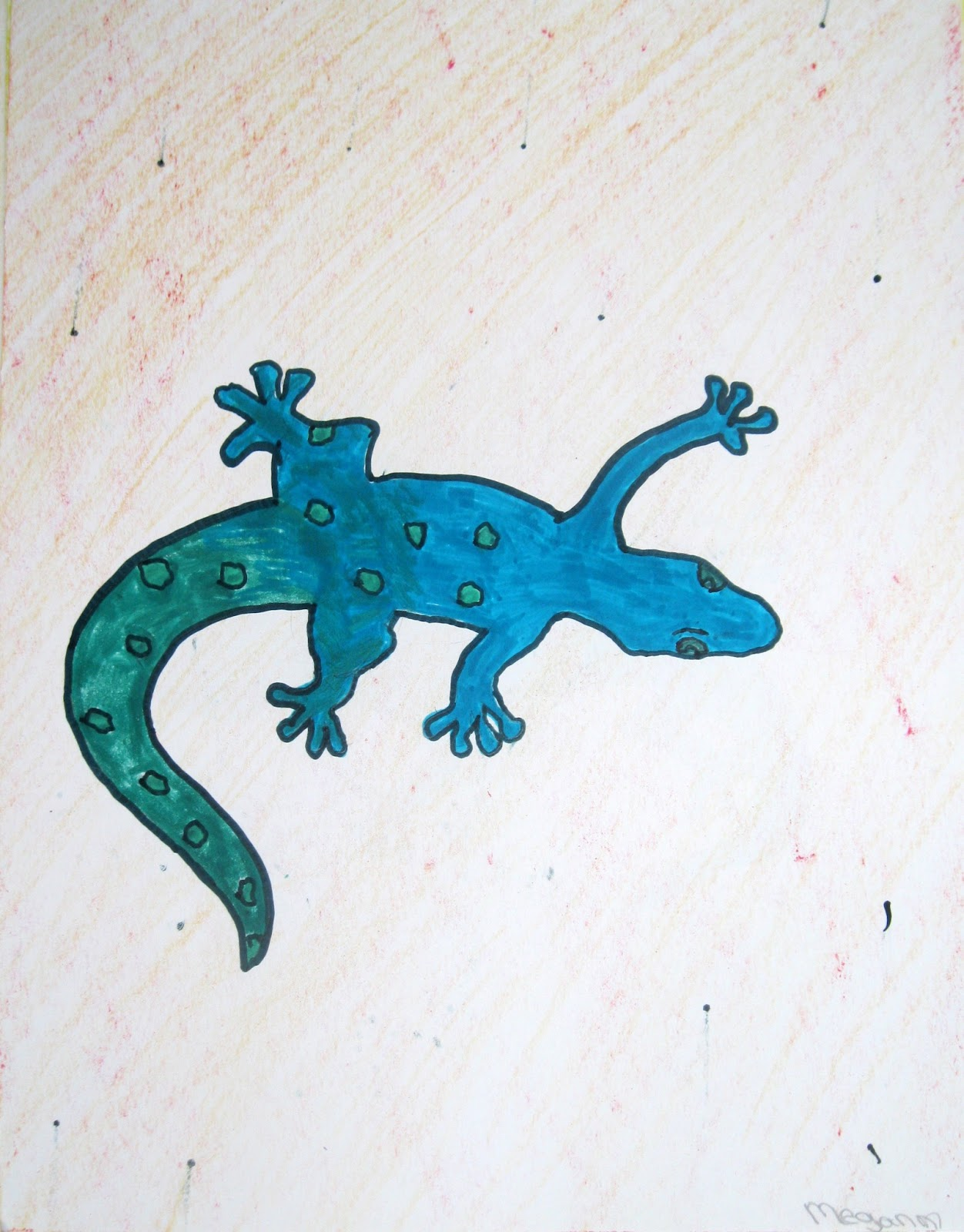 Cute Lizard Drawing This year s cute lizards Cute Lizard Drawing
