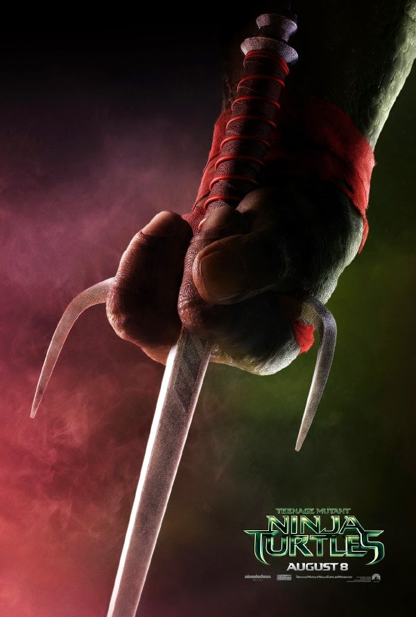 Raphael teaser poster Teenage Mutant Ninja Turtles