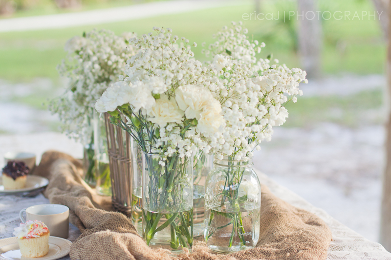 baby's breath flower arrangement