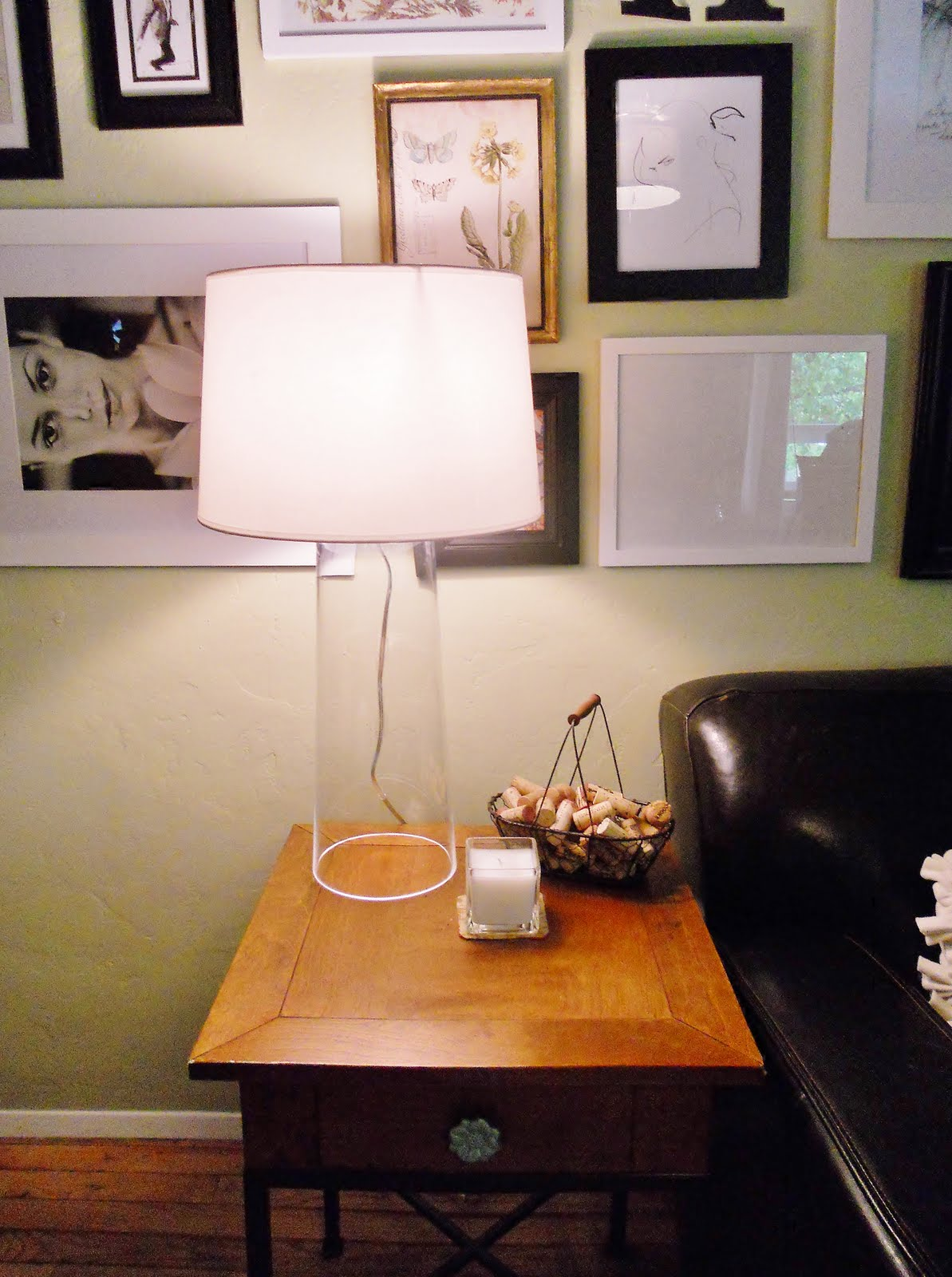 Rocky Bella: DIY Clear Glass Lamp for Diy Table Lamp From Vase  75sfw