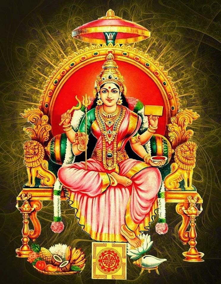 hindu goddess amman image