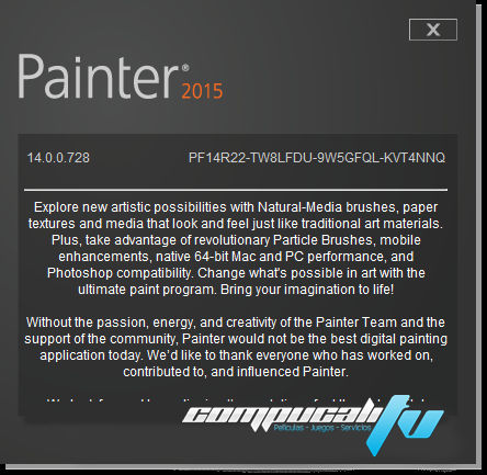 Corel Painter 2015 14.0