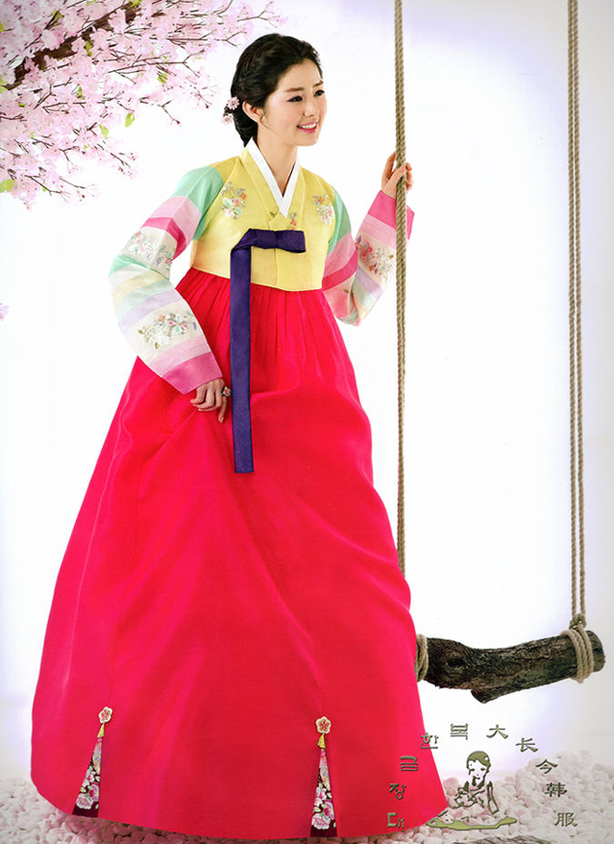 hanbok color meaning