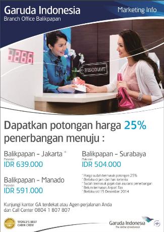 Garuda Indonesia Balikpapan