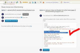 Mengambil Script dari Situs Alexa