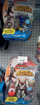 Hasbro Transformers Prime Beast Hunter figures