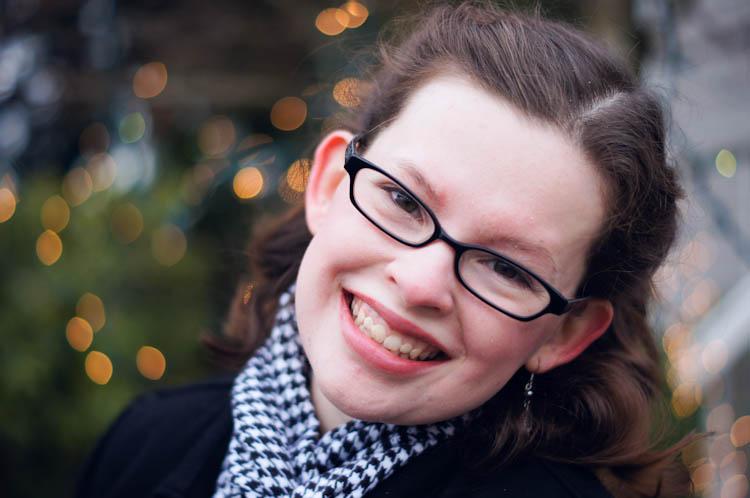 Christmas Portraits | Ribbons Down My Back