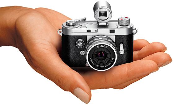 Minox DCC 14.0, ccd, 14mp, cámara miniatura