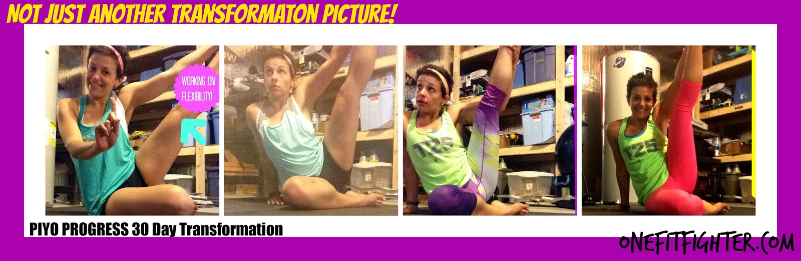 PIYO womens transformation