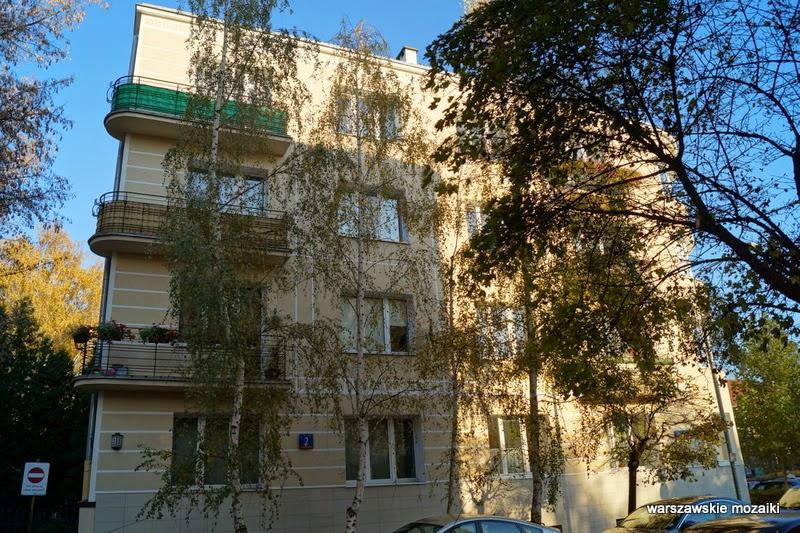 Mokotów Warszawa numer domu zabudowa kamienice Stary Mokotów lata 30