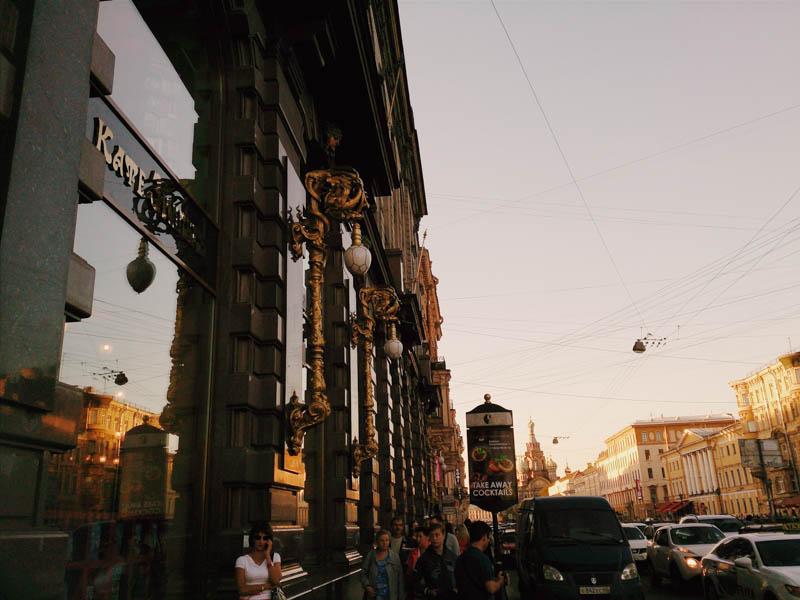 sunset Питер СПб закат канал Грибоедова