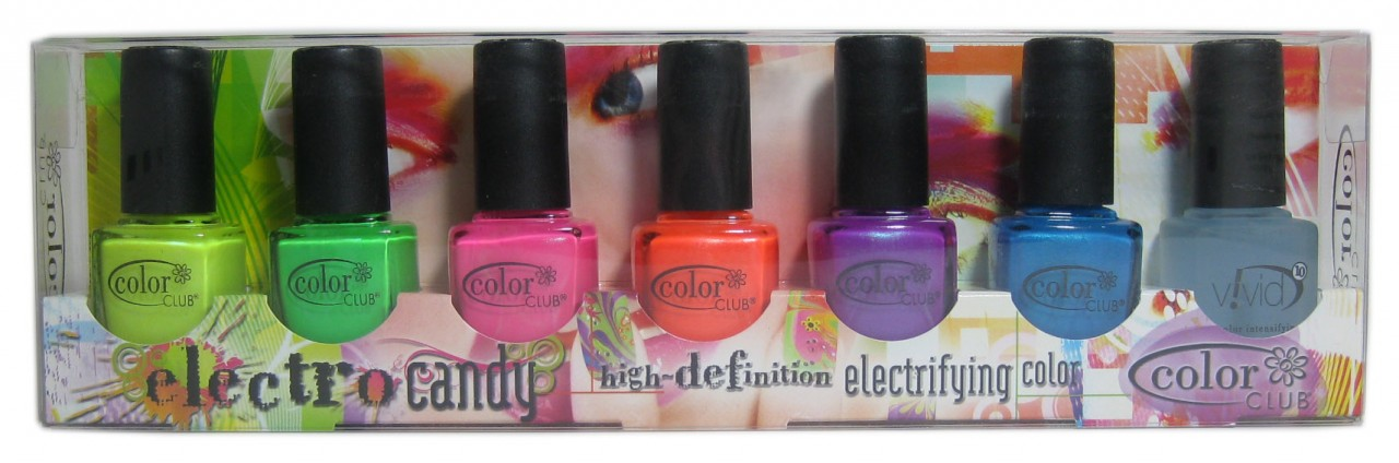 Sparkled Beauty: Color Club nail polish set giveaway