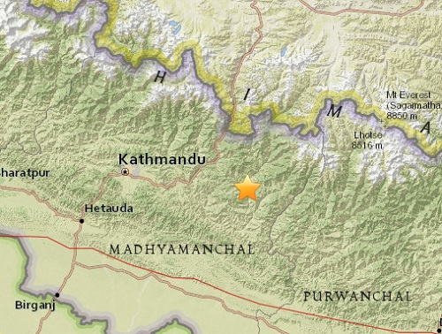 ramechhap_earthquake_map