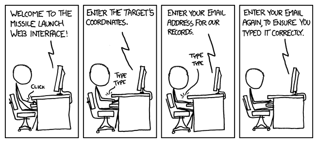 xkcd launch sequence important field considerations