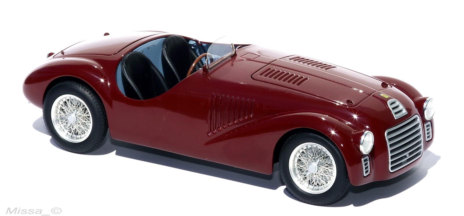 missa akv riuma s egy b marhas gai hot wheels elite ferrari 125 s 1947. Black Bedroom Furniture Sets. Home Design Ideas