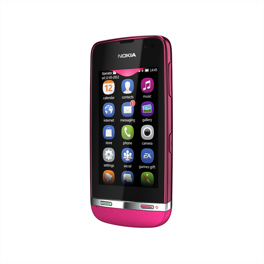 ... Gadgets: Detailed specifications for the Nokia Asha 311 (Rose Red