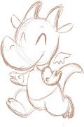Cartoon Baby Seiron, by Tracy MacLauchlan (cartoonbabyseiron)