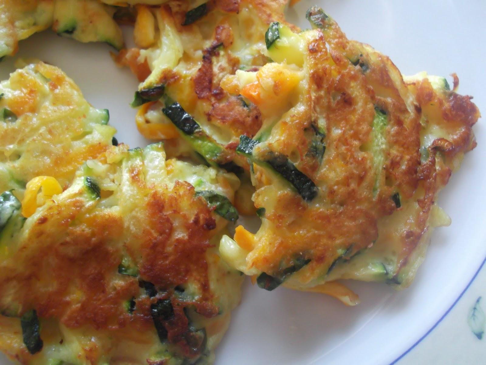 Molto profumi dalla cucina: Frittelle di zucchine e carote JZ09