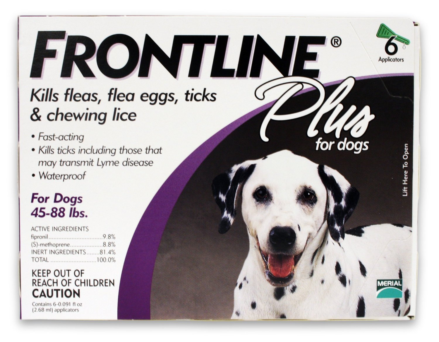 Best Merial Frontline Plus Flea And Tick Control For Dogs