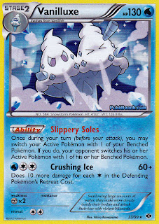 Vanilluxe Next Destinies Pokemon Card