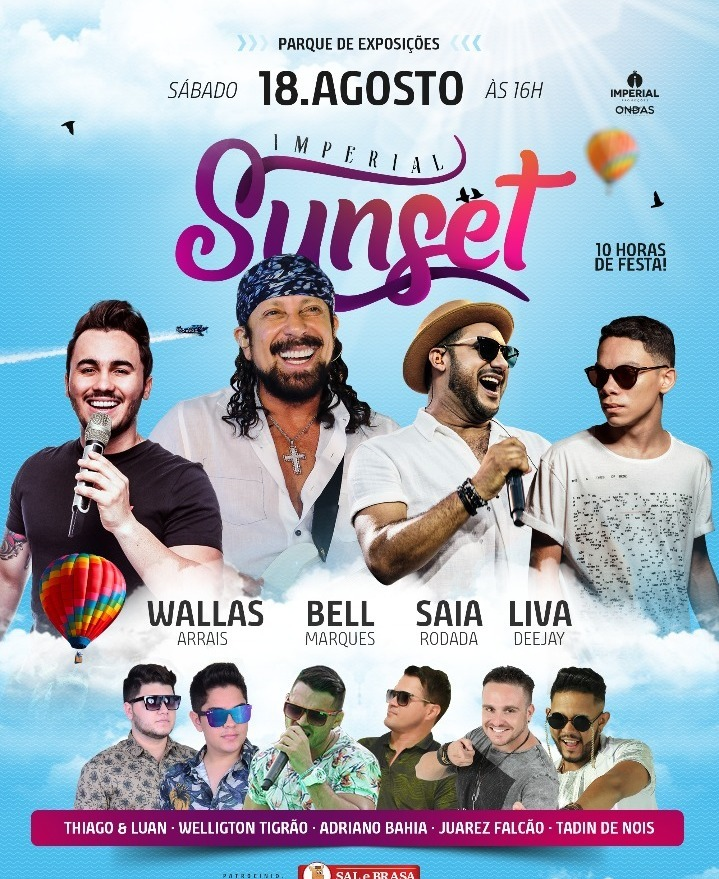 IMPERIAL SUNSET - 18 DE AGOSTO