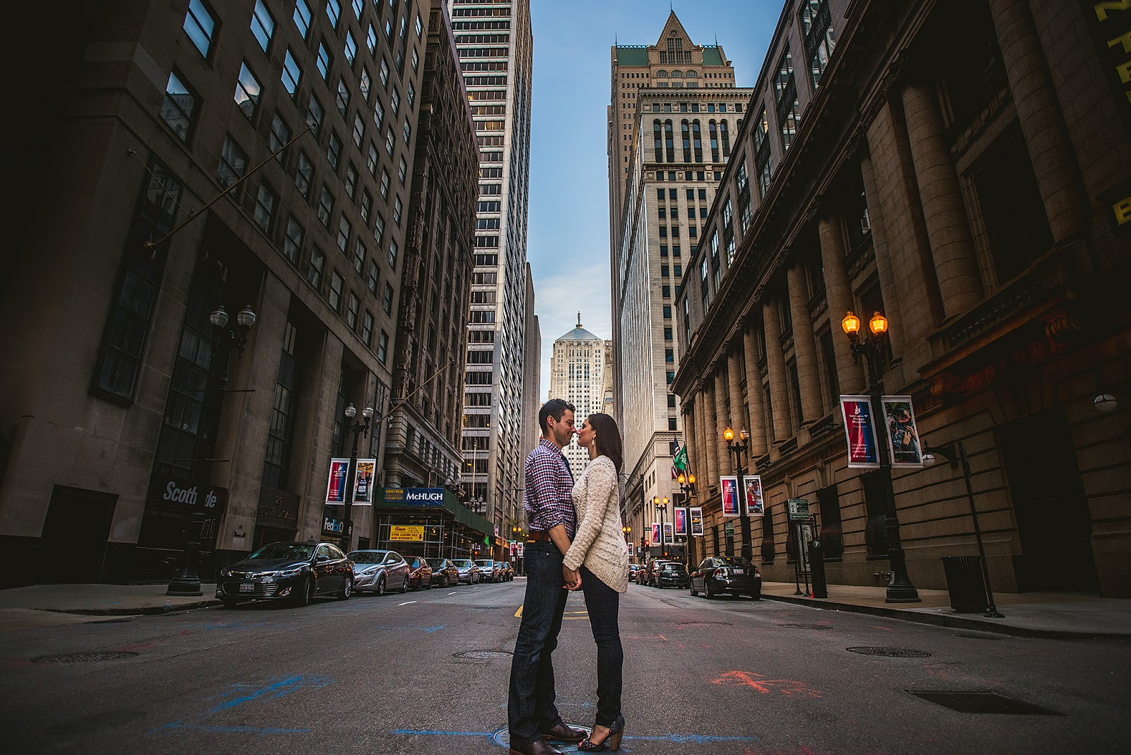 Board of Trade Engagement Photo