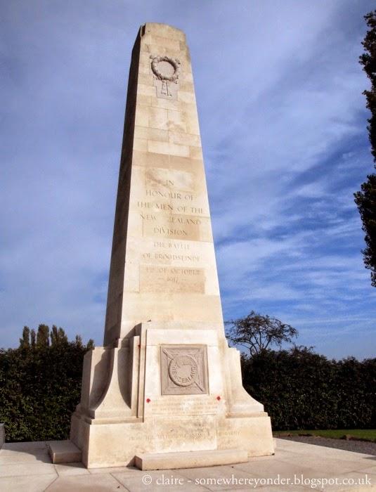 Gravenstafel, the New Zealand Memorial, Flanders Fields Belgium