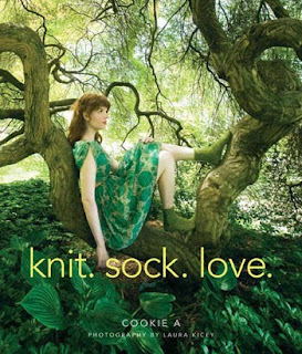 cookie a, knit sock love