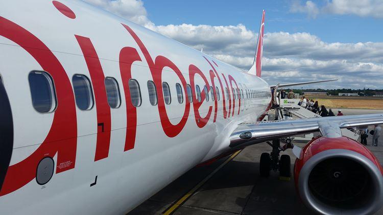 air berlin Flugzeug