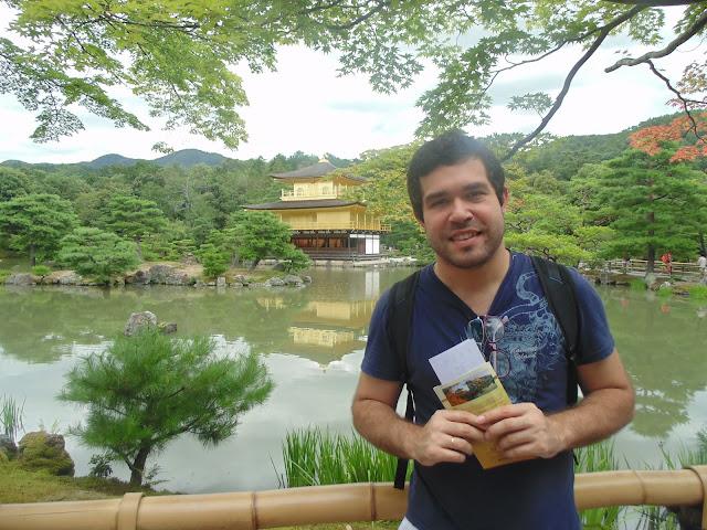 Templo Kinkaku-ji em Quioto