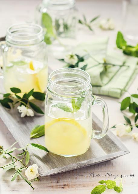 sunday,jaune,yellow,detox water,citronnade