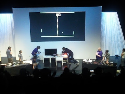Drone Pong Live, Hacked London