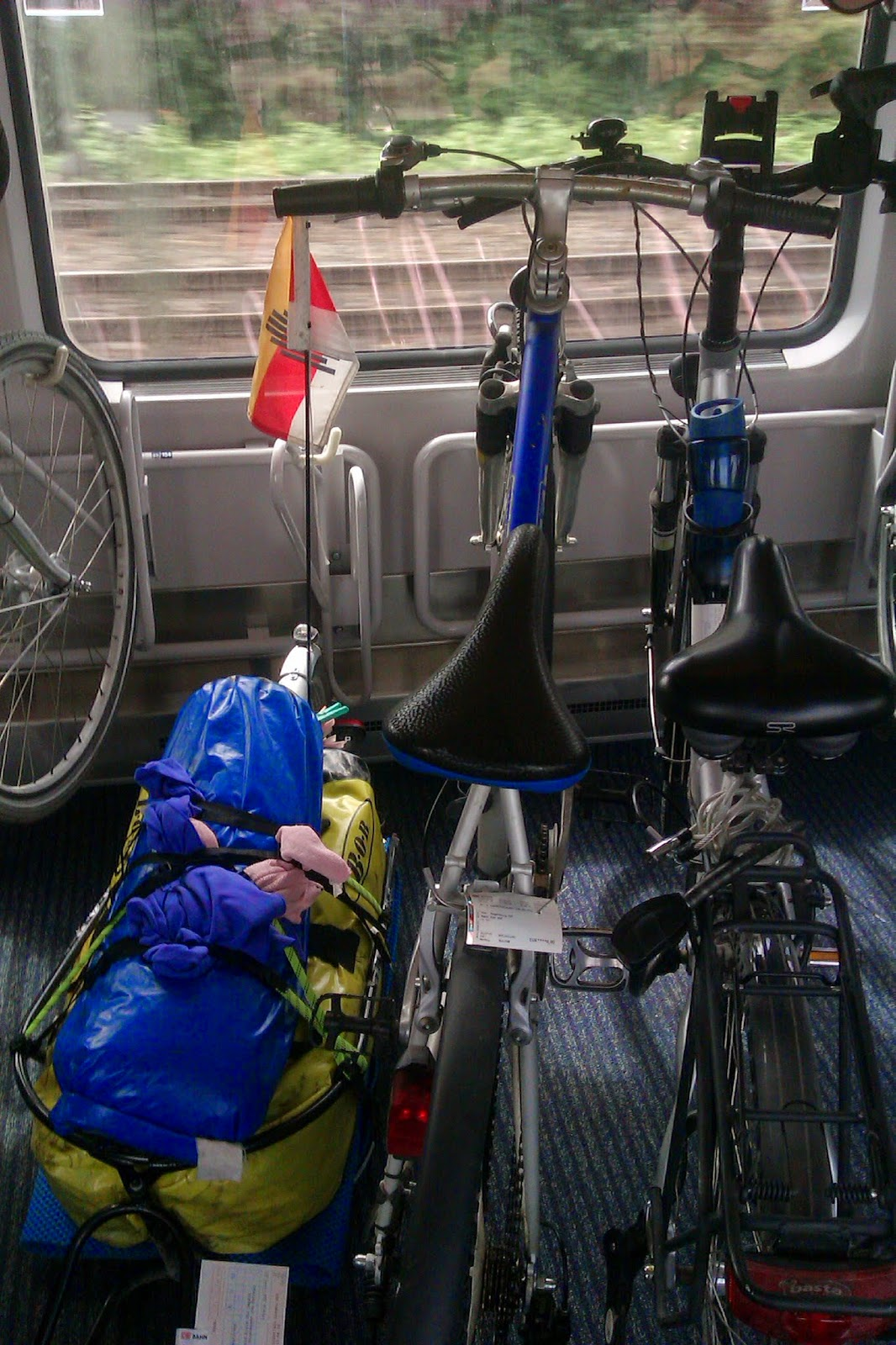 Moenchen Gladbach IC Bike fernzugticket