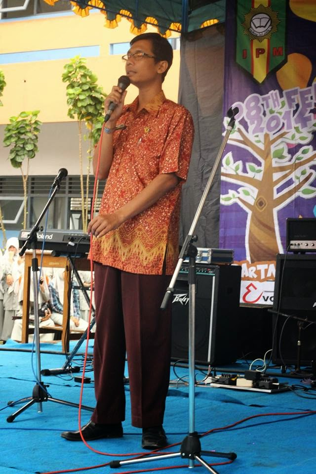 kepala sekolah sma muhammadiyah 1 muntilan,yanto siswoyo